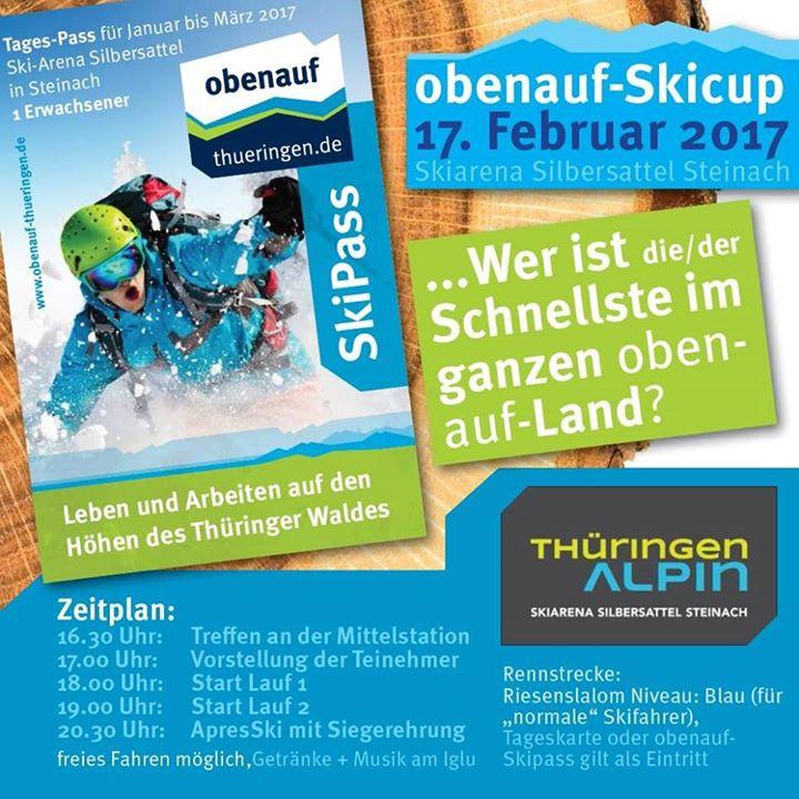 Obenauf Skirennen