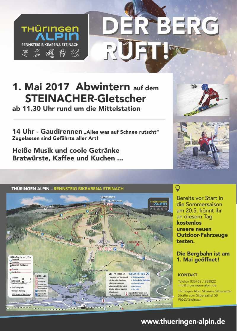 Abwintern Skiarena Steinach